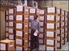 出荷を待つインドの原料メーカー